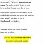 OKCupid dating site hides the 'ugly' people from your matches