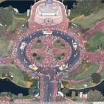 Are Disney's Magic Kingdom Google Maps images fake?