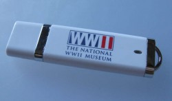 The classic thumb drive design for a serious subject (FYI, it's in New Orleans).