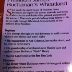 The polite omissions of James Buchanan's Wheatland tour