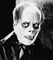 Lon Chaney as 1925 Phantom of the Opera