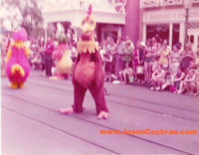Parade, Magic Kingdom, Walt Disney World, mid-1970s