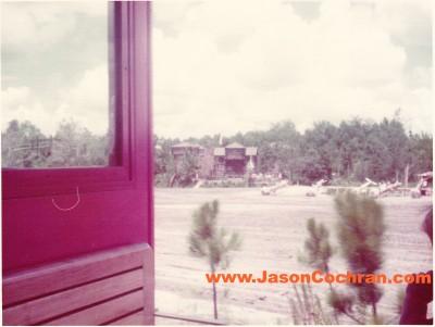 From the Walt Disney World Railway in July 1973