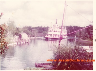 Richard F Irvine Riverboat in Magic Kingdom