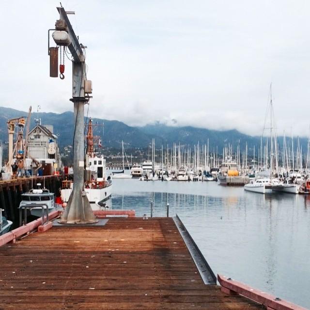 Pacific wharf #California #SantaBarbara
