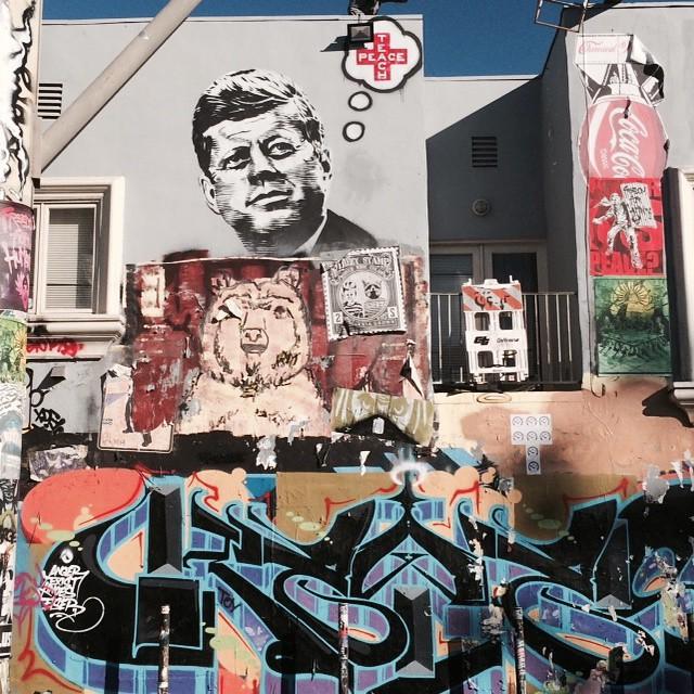 Melrose Avenue #LosAngeles #California #art #graffiti #streetart #nofilter