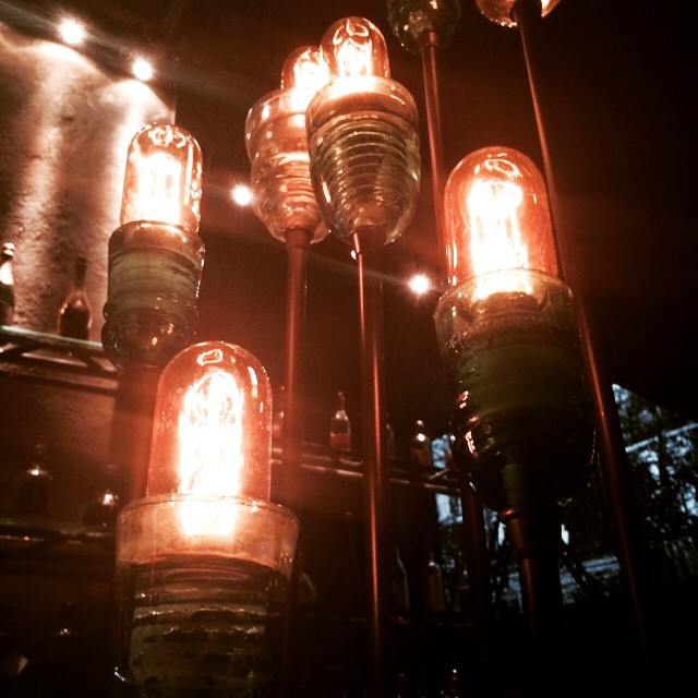 Incandescent lushness in the abandoned post-industrial caverns of the old electric plant. Burlesque, Mèliés films, $14 cocktails inside the snug in the old boiler. #LosAngeles #California
