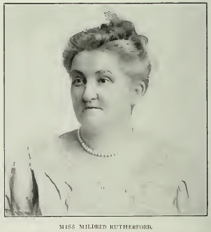 "Mildred Rutherford, or ""Miss Millie"""