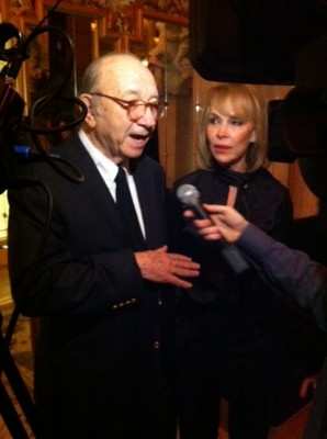 Neil Simon and his wife