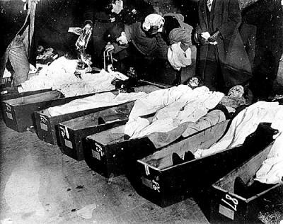 Triangle Fire morgue