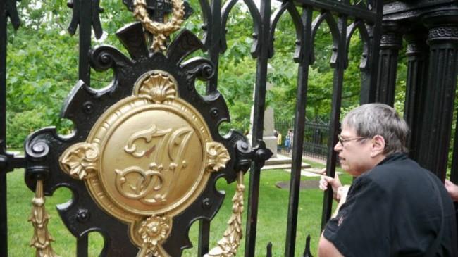 Fence of Thomas Jefferson Burial Plot
