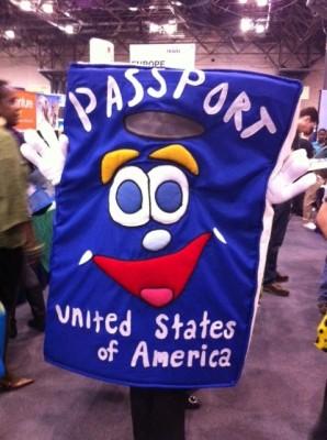 State Department's passport mascot