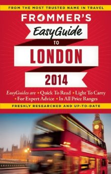 My next book: Frommer's London 2014