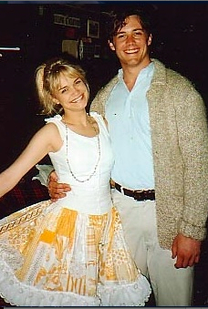 This was Kristin Chenoweth then (with her Matt, Richard Roland).