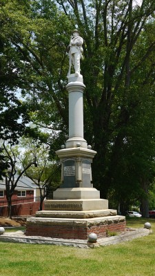 Greene Country, Georgia Confederate memorial